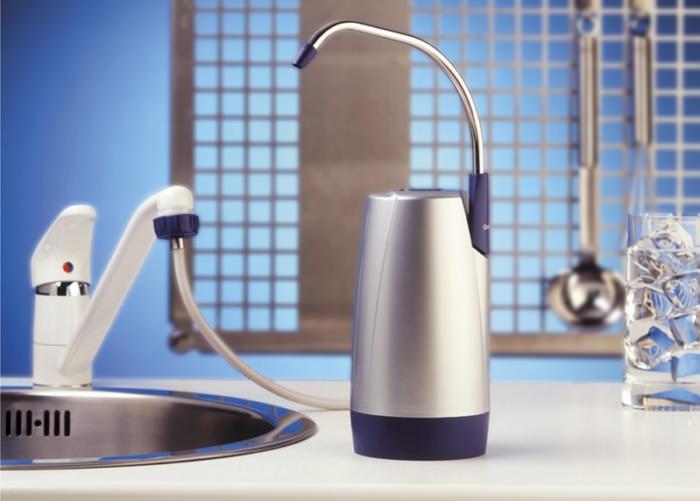 Проточный водоочиститель