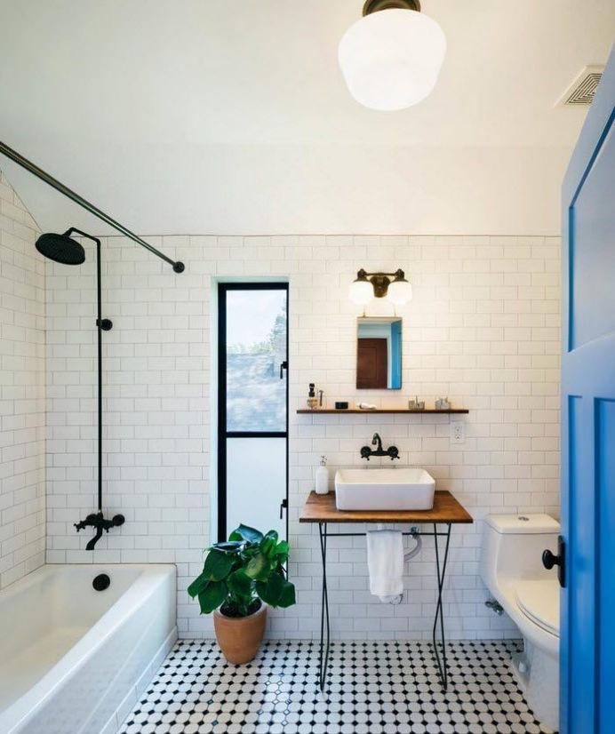 оформления ванной в лофт стиле