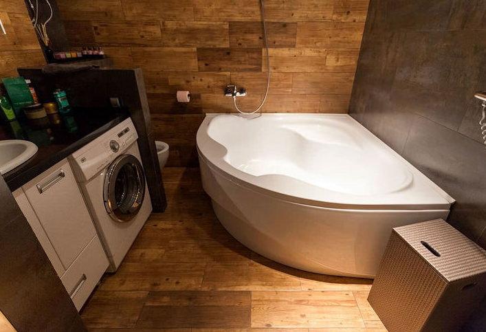 ванная в лофт стиле