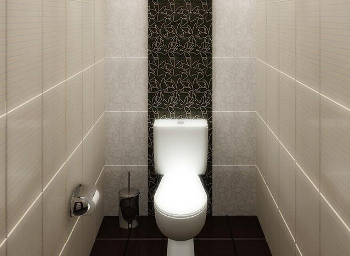Светлый туалет
