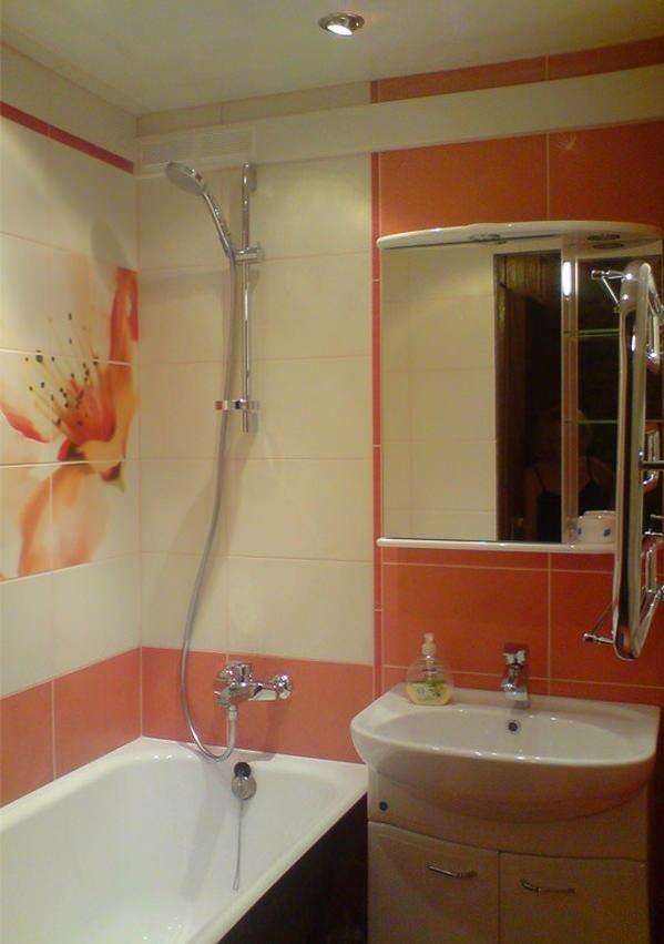 Персиковая ванная