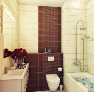 плитка для ванной комнаты фото дизайн 4 кв.м