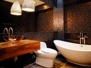 Современный дизайн ванной комнаты 6 кв м с туалетом и стиральной машиной 182
