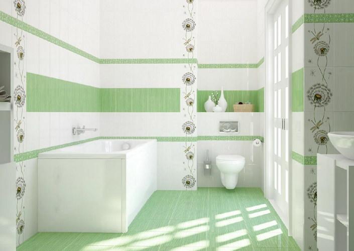 Как рассчитать количество плитки для облицовки ванной