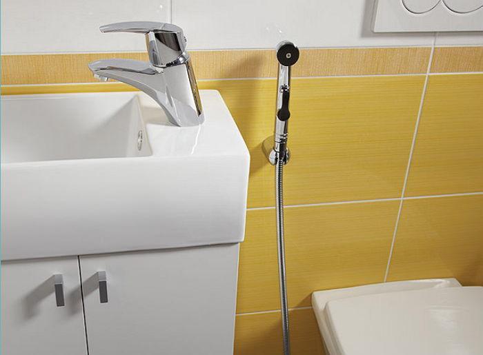 Смесители для умывальника с гигиеническим душем купить купить смеситель для кухни распродажа