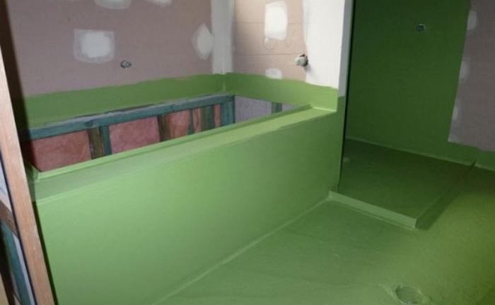 Гидроизоляция стен и пола в ванной комнате