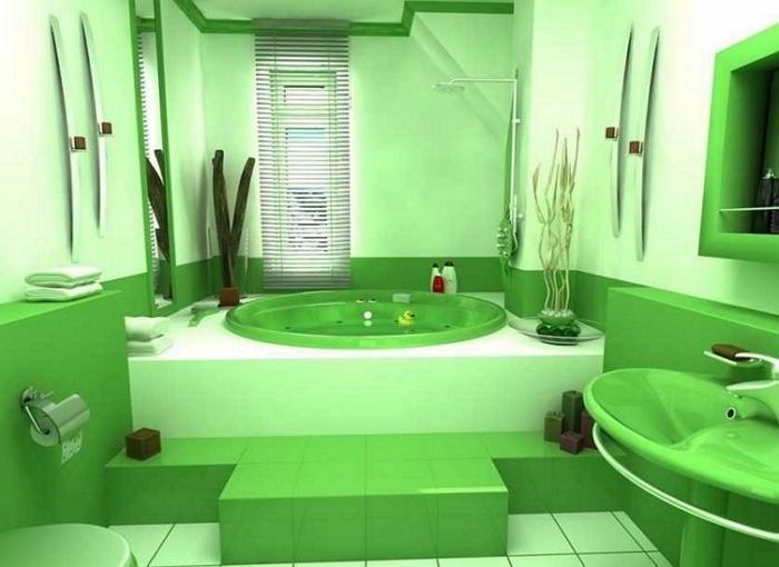 Скрытый монтаж труб в ванной комнате
