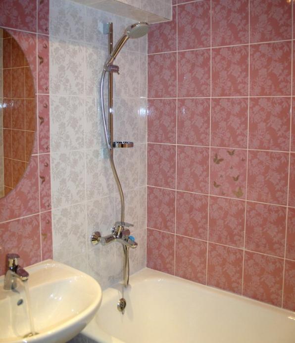 Расчет высота монтажа крана в ванной