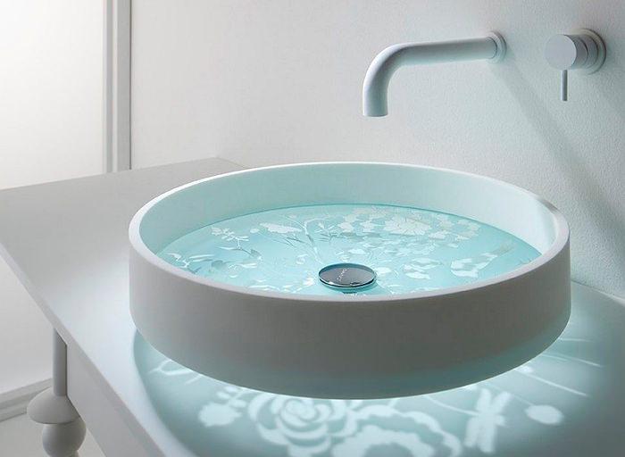 Раковина на столешницу в ванной