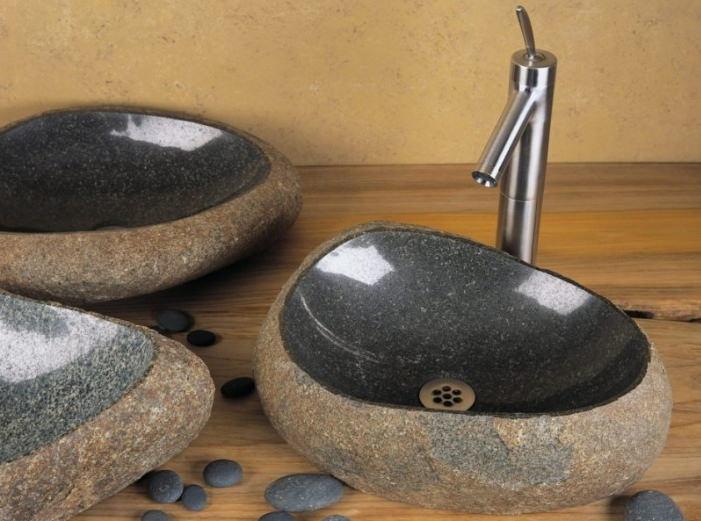 Умывальник из натурального гранитного камня