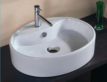 Накладная раковина на столешницу для ванной размеры