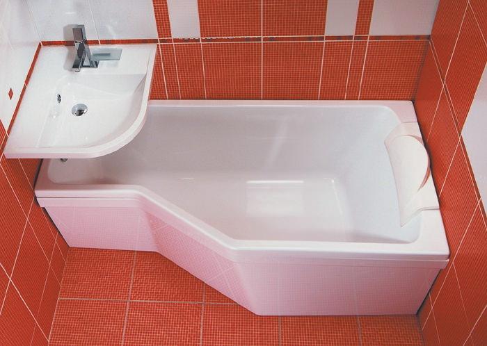 Неправильная форма ванны
