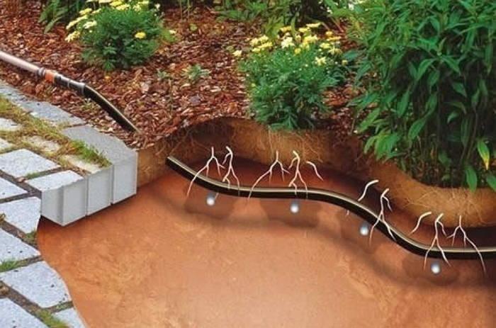 Подземная система полива