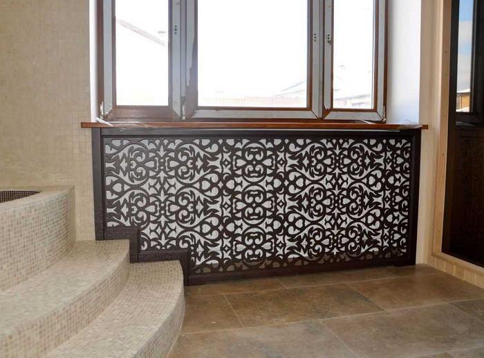 Декоративный экран для радиатора отопления