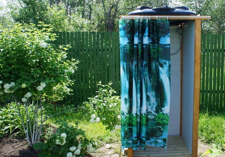 Дачный душ своими руками фото 44