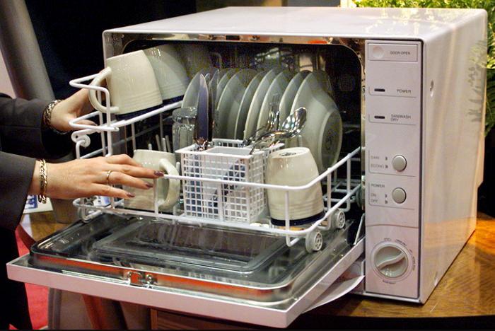 Портативная машина для мытья посуды
