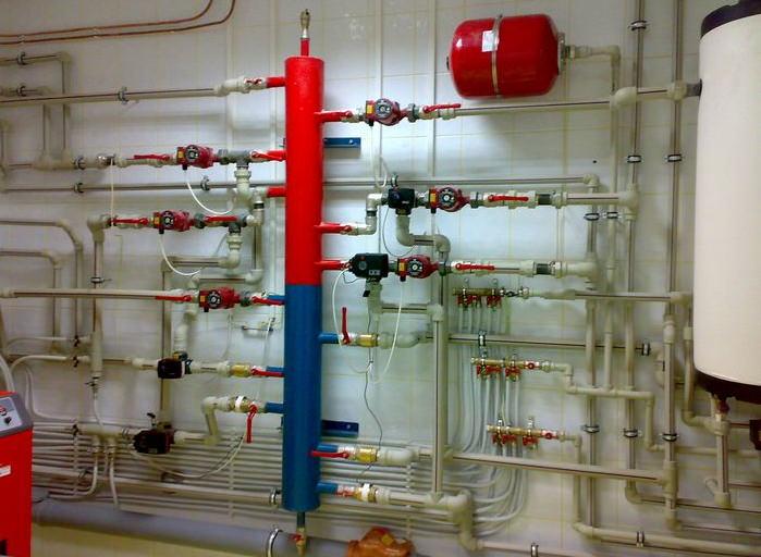 Расширительный бачок в системе отопления дома