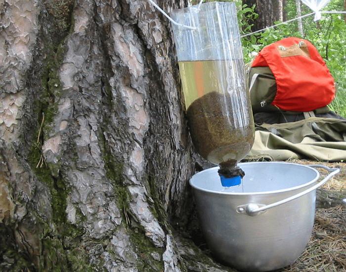 Самодельный фильтр для очищения воды