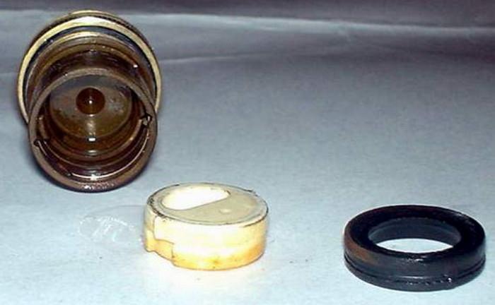 Замена прокладки в смесителе