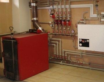 Электро дровяной котел для отопления частного дома