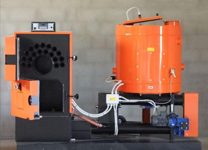 Пеллетное оборудование с вертикальной загрузкой