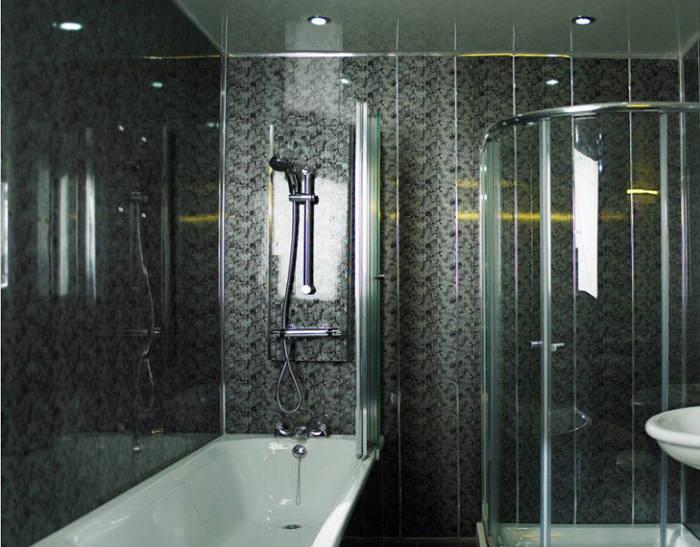 Стеновые панели ПВХ в ванной