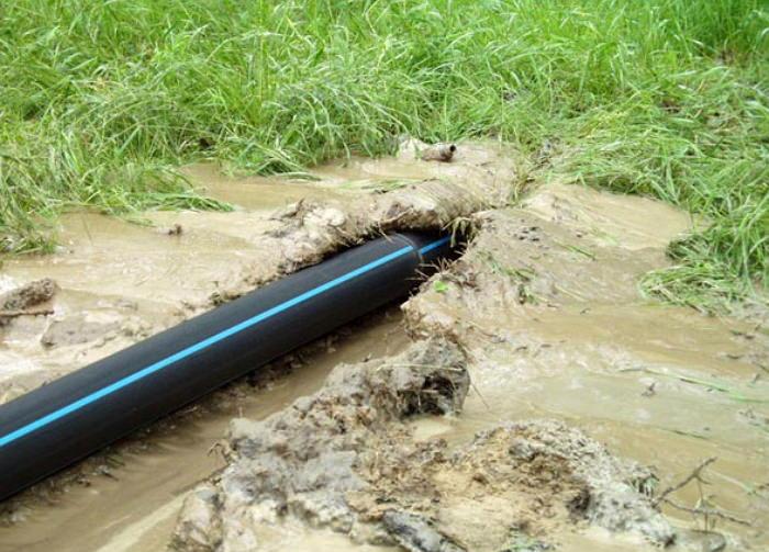 Полиэтиленовые трубы для организации водоснабжения