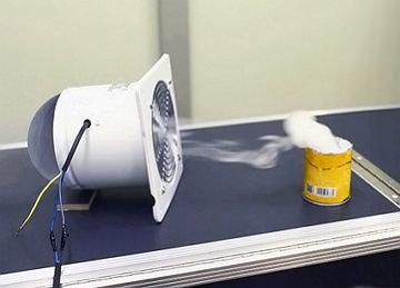 Бытовой вытяжной канальный вентилятор с обратным клапаном