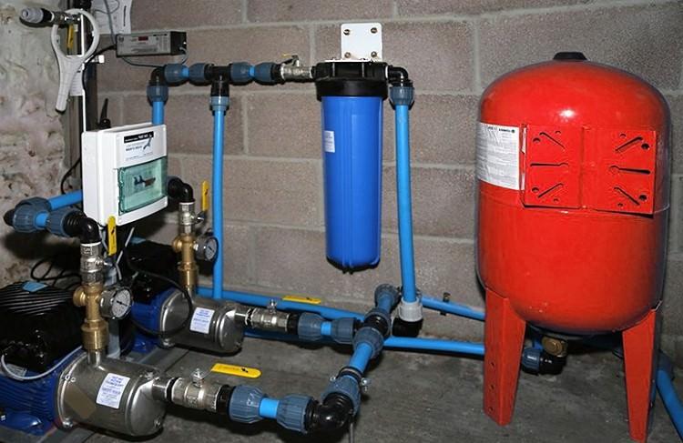 Гидроаккумулятор для горячего водоснабжения
