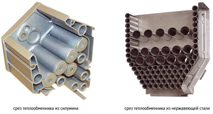 Теплообменник конденсационного теплоагрегата