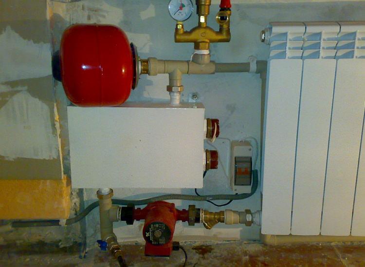Самодельный электрический котел отопления
