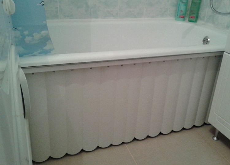Жалюзи под ванну