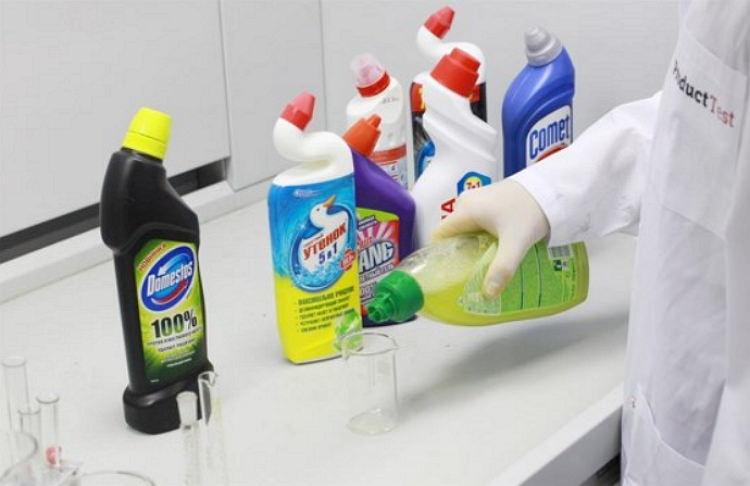 Требования к чистящим средствам для туалета