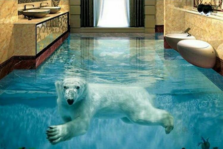 3д изображение медведя