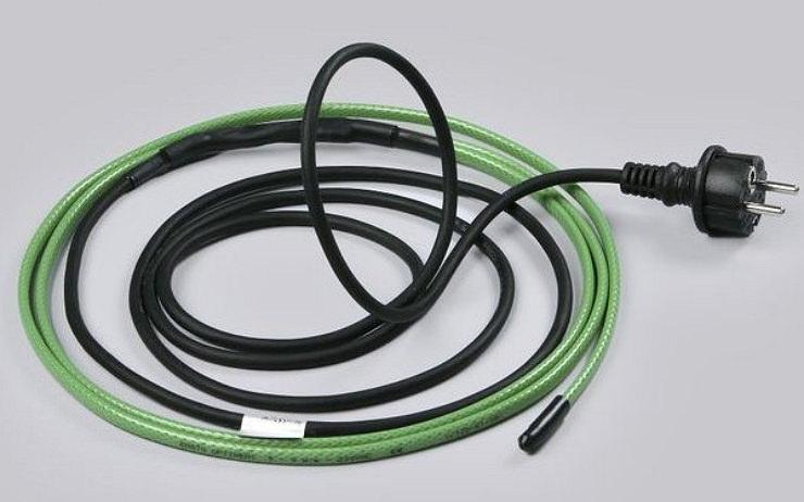 Греющая проводка для трубопровода