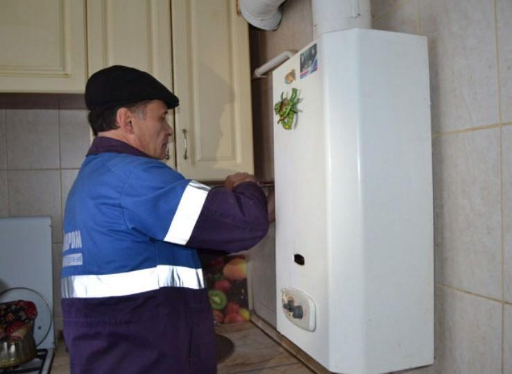 Монтаж газ колонки на кухне