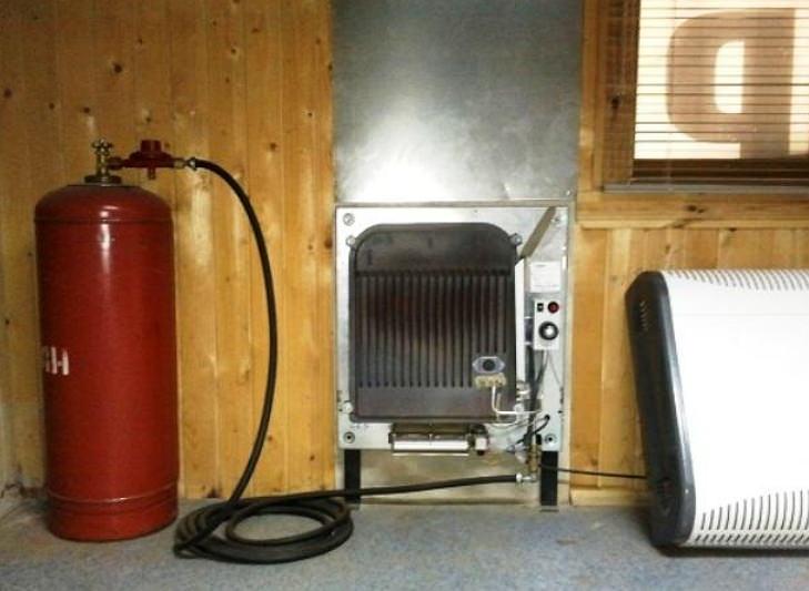 Обогрев дома сжиженным газом