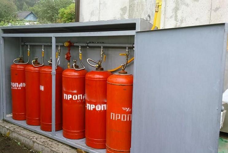 Хранение баллонов с газом зимой