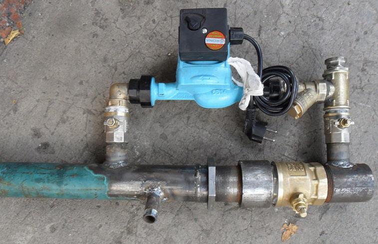 Функции байпаса для системы отопления