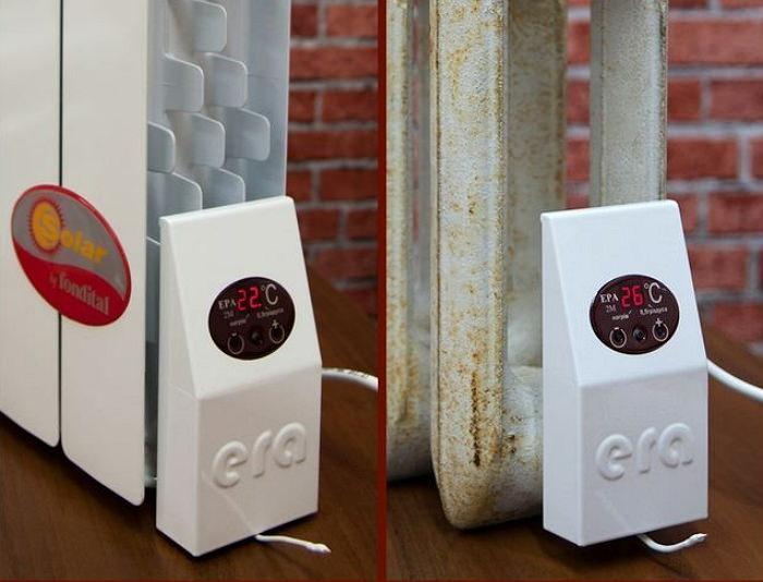Электрический тен для системы отопления
