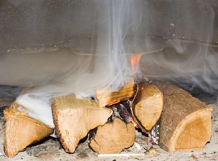 Обратная тяга в дымоходе - причины образования и методы устранения
