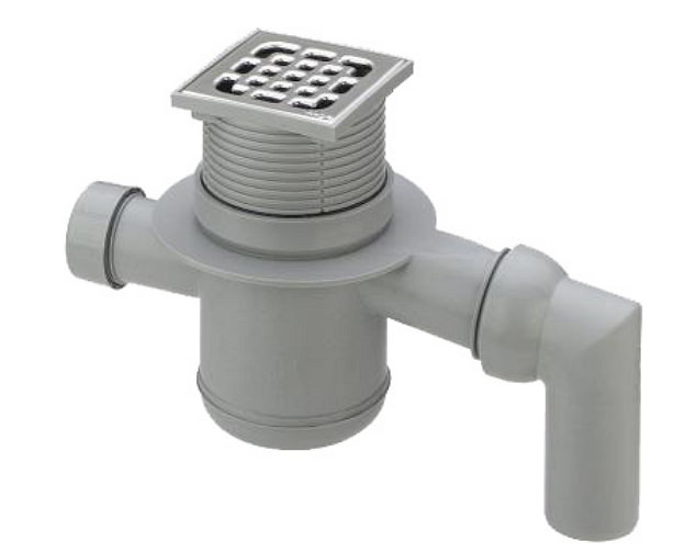 Устройство канализации в бане с бетонным полом